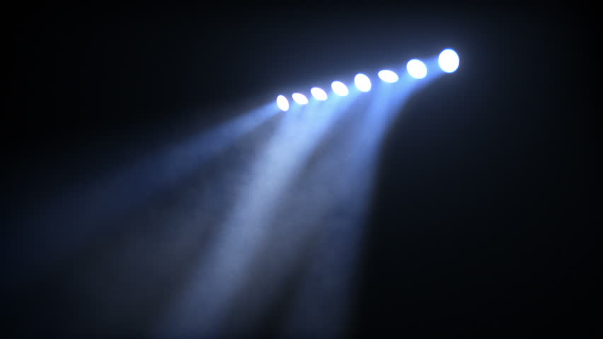 Bright stage lights flashing. Amber-Blue. SEE MORE COLOR OPTIONS IN MY PORTFOLIO.