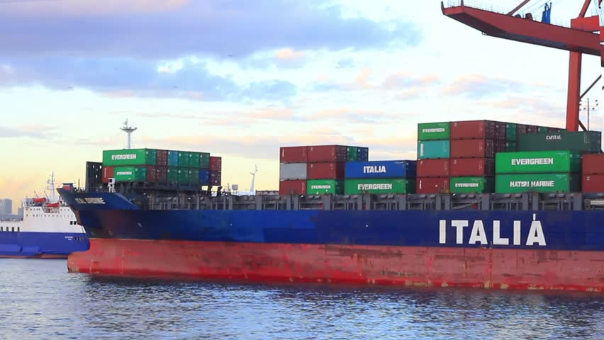 ISTANBUL - JAN 23: Cargo ship ITAL ORDINE (IMO: 9337250, Flag: Germany) at