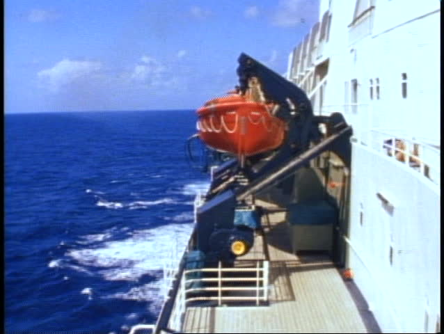 A Base Jumper Jumps Down From A Platform As Other Jumpers Wait In - Cruise ship jumper