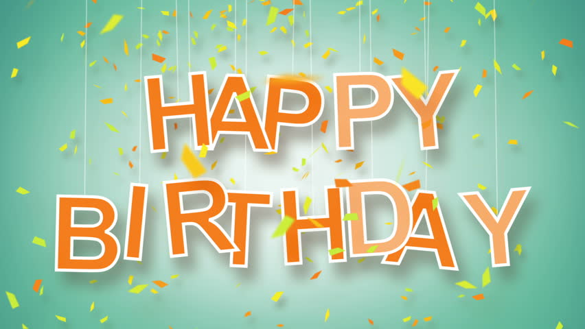 Stock video of happy birthday greeting two variants parts stock video of happy birthday greeting two variants parts 3833402 shutterstock m4hsunfo