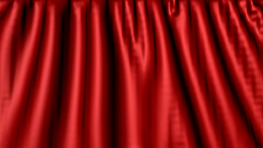 Theater Curtains Opening Effect Stock Footage Video 331498