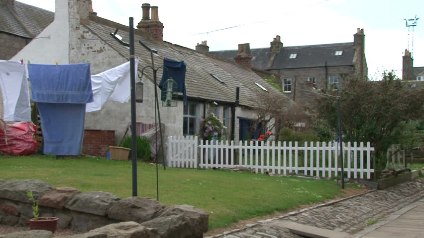 Quaint historical and fairytale village at the end of the river Dee where the port of Aberdeen begins.