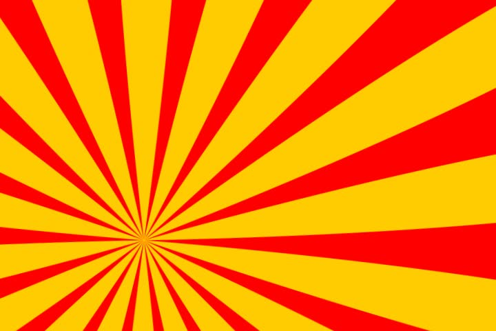 Colorfull Red Yellow Background