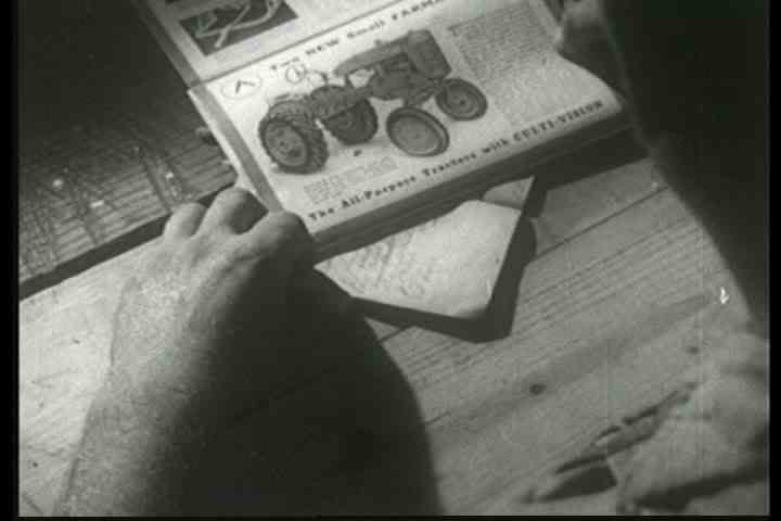 1940s - Illiterate farmers are taught about the Tennessee Valley Authority in the 1930s and experiment with new farming techniques.