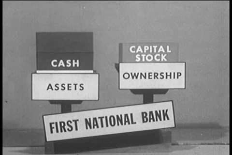 1940s - An overview of how banks operate through deposits and loans
