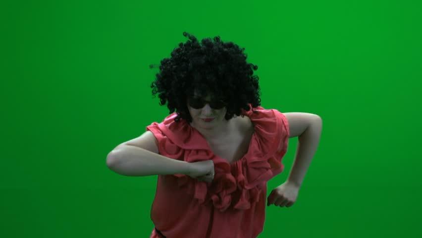 Image of: Whatsapp Women Dancing Funny Creasy Fun Dance Dancer Green Screen Shutterstock Women Dancing Funny Creasy Fun Stock Footage Video 100
