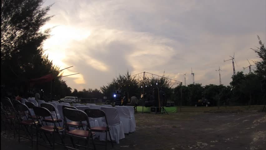 Beautiful timelapse at Pantai Baru Beach on Music Gigs Concert