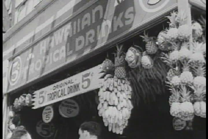 1940s - A promotional film for Coney Island.   Shutterstock HD Video #4019182