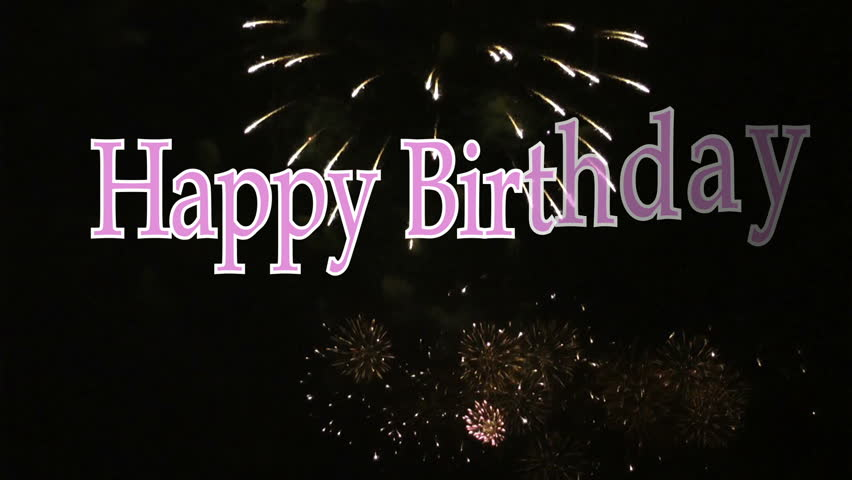 Happy Birthday Stock Footage Video | Shutterstock
