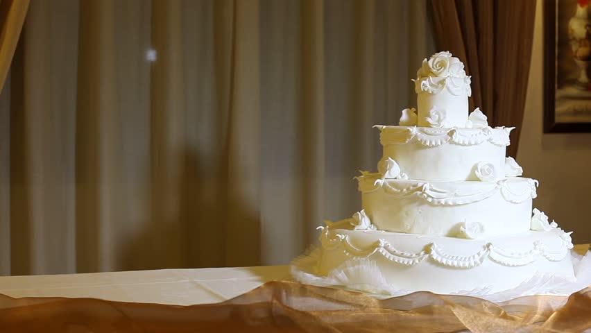 Wedding Cake Stock Footage Video 100 Royalty Free 4052422