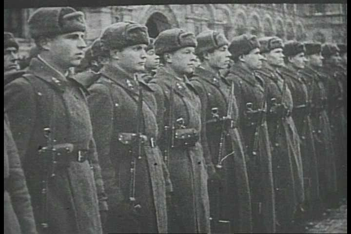 1940s - Newsreel story: The Axis march on Russia