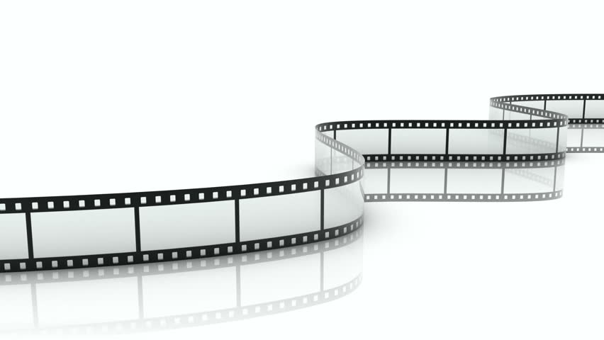 Film Strip Repeatly Move Stock Footage Video 100 Royalty