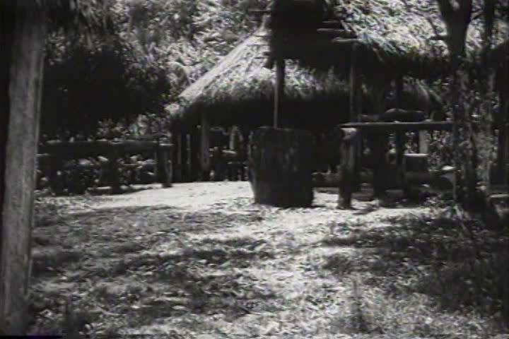 1910s - The lives of native Indians in what looks like Brazil's Amazon basin, 1919.