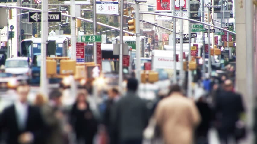 Stock Video Of New York, Usa - Circa November