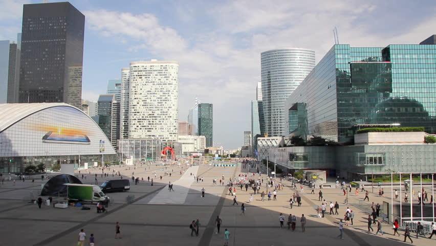 Skyscrapers in La Defense, Paris France