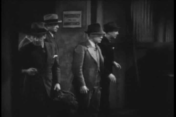 1930s - Generic detective movie scenes from the 1930s.