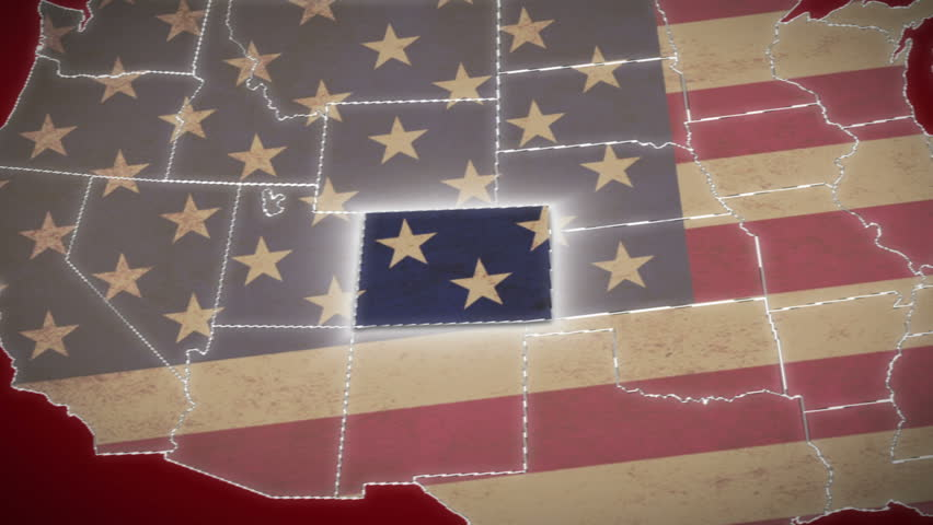 American Flag And Podium Stock Footage Video 4649966 Shutterstock
