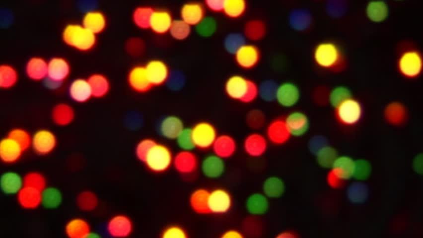Blue Twinkle Christmas Lights