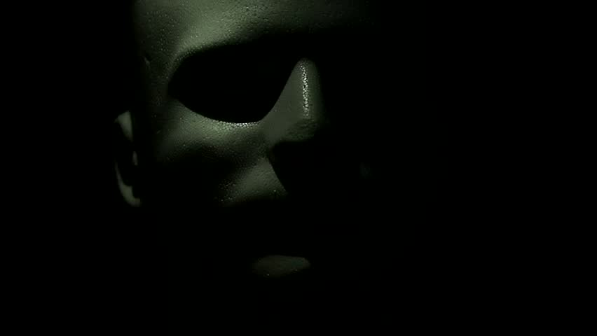 Scary shot of a spooky mannequin head. | Shutterstock HD Video #4347182