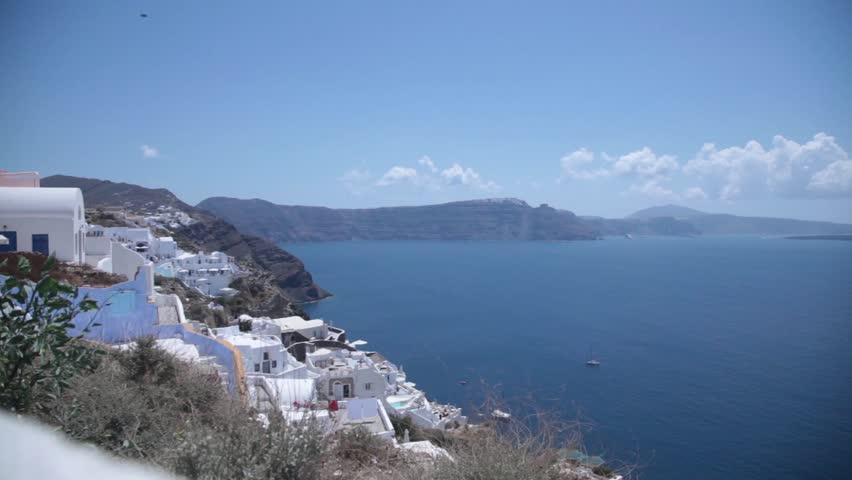 Greece Crete Santorini Greek Beach Stock Footage Video 100 Royalty Free 4350962 Shutterstock