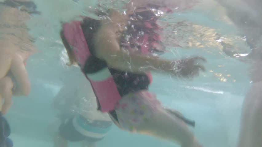 Stock Video Of People Swimming In A Hotel Swim 4364162 Shutterstock