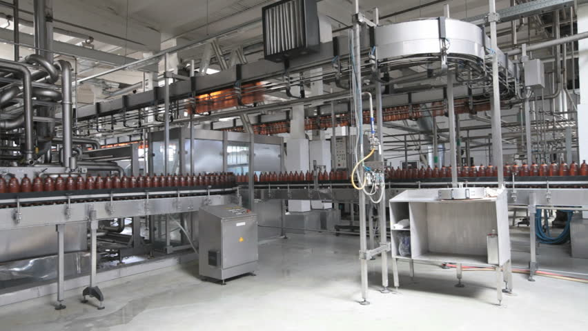 Automated Production Line Industrial Production Of