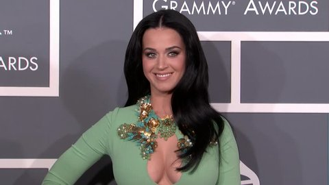 LOS ANGELES - February 10, 2013: Katy Perry at the Grammy Awards 2013 in the Staples Center in Los Angeles February 10, 2013