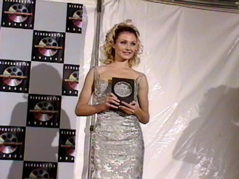 HOLLYWOOD - June 3, 1995: Cameron Diaz at the Blockbuster Awards 1995 in the Pantages Theatre in Hollywood June 3, 1995