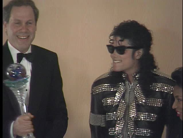 LOS ANGELES - September 14, 1990: Michael Jackson at the Michael Jackson Receives Boy Scout Award in the Century Plaza Hotel in Los Angeles September 14, 1990