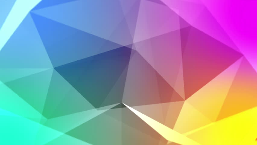 Photo Collection Prism Colorful Triangle Abstract