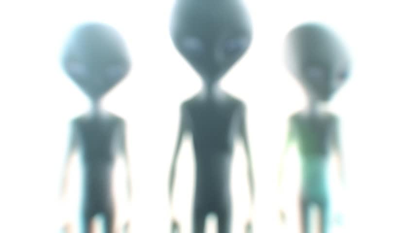 Aliens 3d animation  | Shutterstock HD Video #4607552