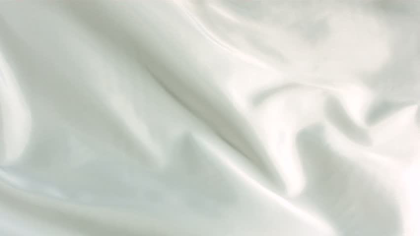 White silk fabric blowing in the wind, abstract background | Shutterstock HD Video #4617272