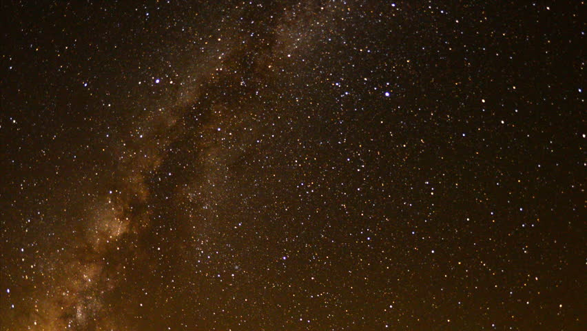 Time Lapse of Perseids Meteor Shower in Mojave National Park #4624532