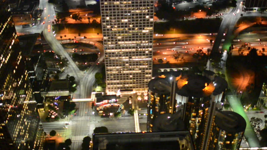 Time Lapse Overview of Downtown Los Angeles - Circa August 2013 | Shutterstock HD Video #4625912