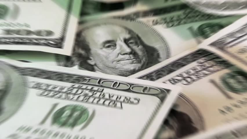 American dollars. Low zoom with blur effect   Shutterstock HD Video #4658912