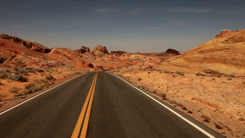 desert road background