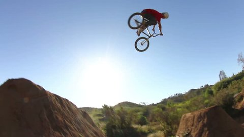 Extreme BMX 360 On Dirt Jumps