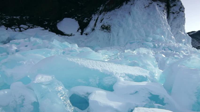 Ice field rift | Shutterstock HD Video #4757582