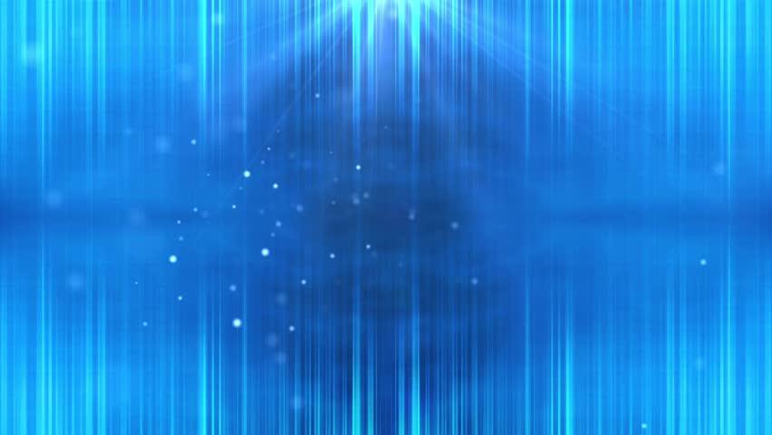 Beautiful loop blue background