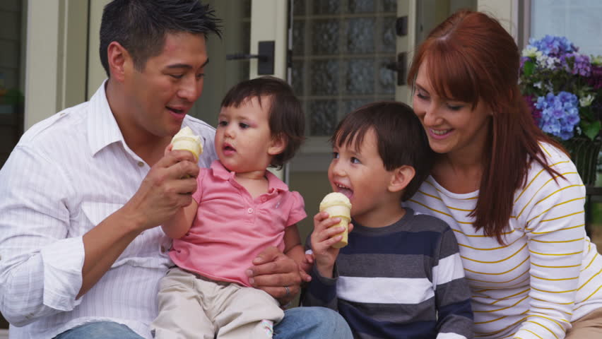 Asian Family Stock Footage Video | Shutterstock