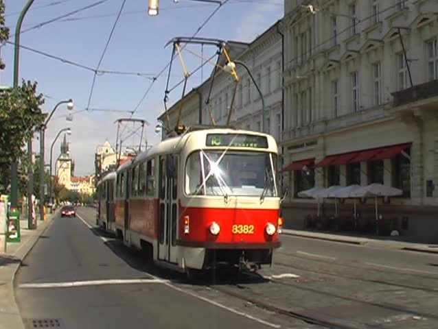 street car in prague - Czech Republic