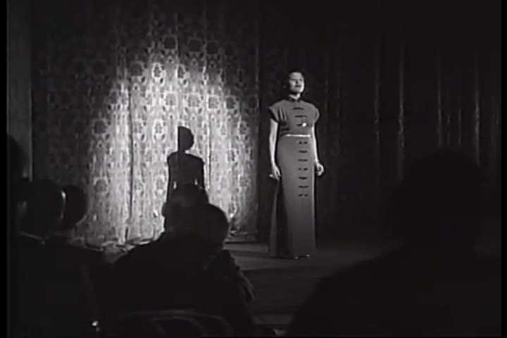 1930s - Lena Horne sings a song onstage in 1938. | Shutterstock HD Video #4831802