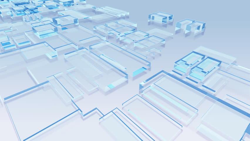 "Crystal Blocks. ""Gl_blo_Ca"" | Shutterstock HD Video #484036"