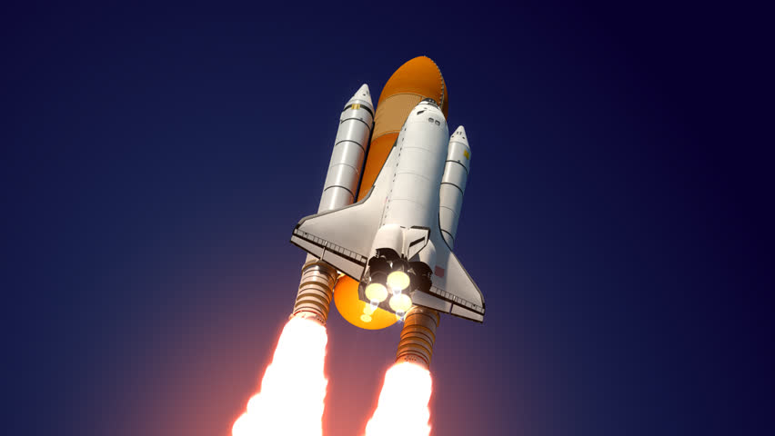 space shuttle launch booster separation - photo #10