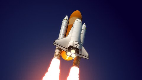 3D model of Space Shuttle