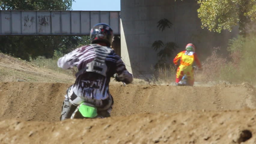 Dirt Bikes Videos >> Whoop Section With Motocross Supercross Stock Footage Video 100 Royalty Free 4871042 Shutterstock