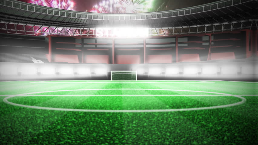 Soccer Background Hd 1080p Seamless Loop Stock Footage