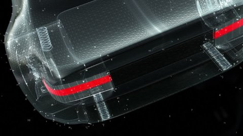 Concept Car Technology wireframe