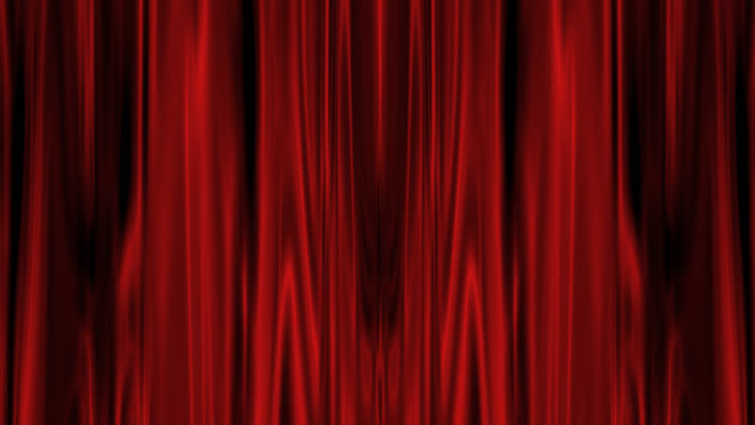 Red Curtain with Alpha Channel  | Shutterstock HD Video #4915502