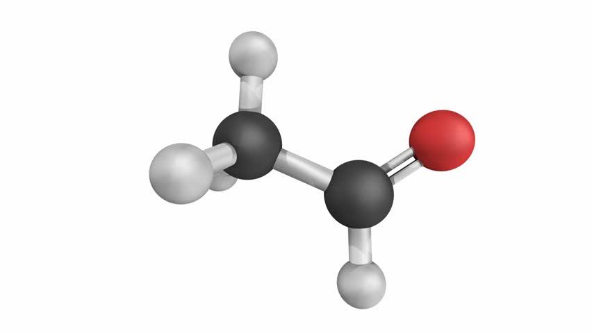 Header of acetaldehyde
